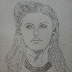 alexandra daddario sketch by me Tampias