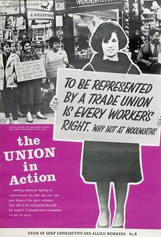 Woolworth Plc - the strike for union recognition, 1962