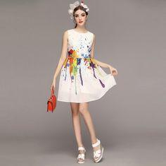 ff5e41554d020 スパッタリングプリントで注目の的♪ドレス ワンピース 結婚式 女子会 発表会 保護