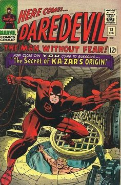 Daredevil... Ka-Zar...