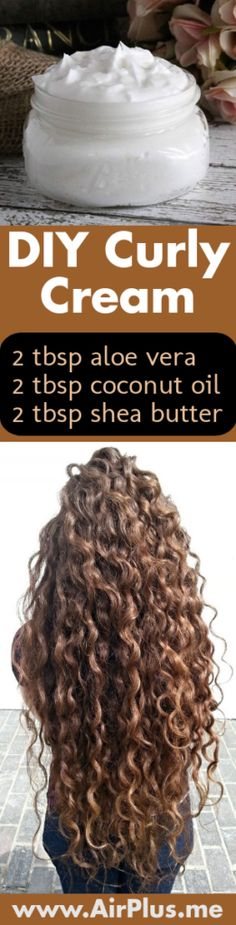 DIY Curl Cream Recipe