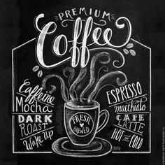 888ff50db6d7 12 Best Coffee Chalkboard Art images | Chalkboard art, Chocolate ...