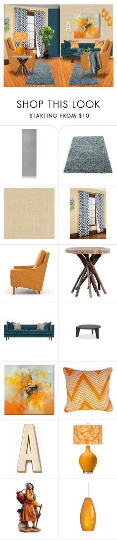 """""""Color Play"""" by kwaldrip ❤ liked on Polyvore featuring interior, interiors, interior design, home, home decor, interior decorating, ferm LIVING, Thrive, Robin Bruce and Trademark Fine Art"""