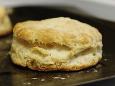 Here is an easy, quick recipe for basic American breakfast biscuits. Spread with jam or serve topped with a generous portion of sausage gravy. Baking powder biscuits make a great addition to any Sunday morning breakfast. As with all quickbreads, it helps to have all the ingredients for biscuits well chilled before starting, even the flour. Also, do not handle the dough any more than necessary. Overworking it will make the biscuits tough. 4 to 6 servings, or about 1 dozen biscuits