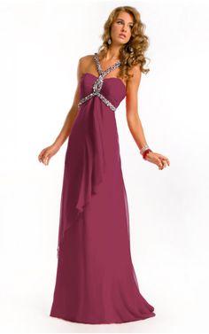 Abiti Da Sera Femminili | Vestiti Eleganti Economici | Abiti Da Ballo Latino | Abiti A Tubinohttp://www.vestitidonnaonline.com/sheath-floor-length-halter-burgundy-dress.html