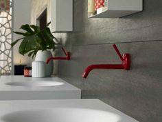 renae barrass interior design: Coloured Taps!