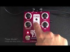 Video Demo of the new Ducktail Delay from @t_rex_effects