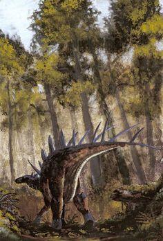 Kentrosaurus aethiopicus by tuomaskoivurinne.deviantart.com on @DeviantArt