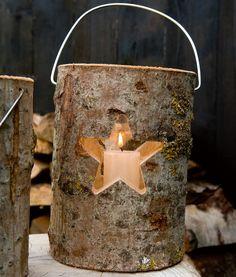 Holzlaterne Stern-Weihnachtslicht-Weihnachten - im Qiero Online-Shop kaufen.