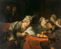 Gelder, Aert de - The Banquet of Ahasuerus - Google Art Project - Aert de Gelder - Wikipedia