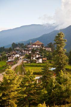Wangdue Phodrang/Tongsa Dzong, Tongsa, Bhutan