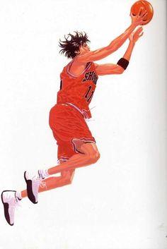 The Best Sneakers from the Slam Dunk Manga and Anime Series Guy Drawing, Manga Drawing, Manga Art, Manga Anime, Ghibli, Michael Jordan Slam Dunk, Slam Dunk Manga, Best Dunks, Inoue Takehiko