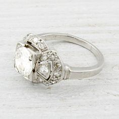 .80 Carat Vintage Diamond Engagement Ring | New York Vintage & Antique Estate Jewelry – Erstwhile Jewelry Co NY