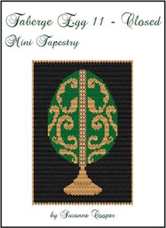 Faberge Egg 11 Closed Mini Tapestry  by Suzanne Cooper