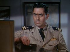 Crash Dive (1943)  Tyrone Power