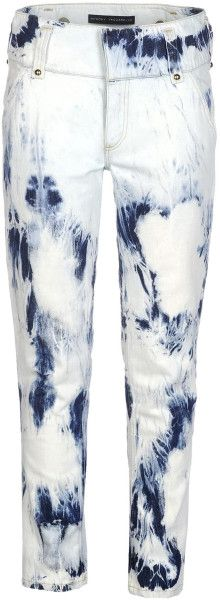 Love this: ANTHONY VACCARELLO Blue Denim Pants @Lyst