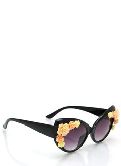 Covered In Roses Sunglasses $6.00