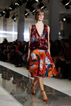 I love it when I see a look that's perfect from 360 degrees. This dress is from Marni.