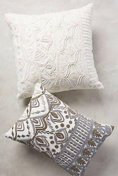 Textured Ivory Pillow