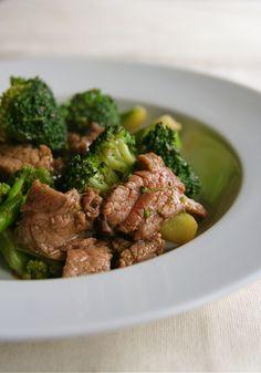 Stir Fry beef & broccoli: 25mins Total