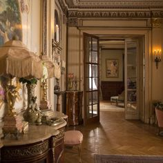 The jaw-dropping decor of Colette, Keira Knightley's new film about the visionary French novelist Dream Home Design, My Dream Home, House Design, Dream Life, Interior Exterior, Interior Architecture, Interior Design, Greek Bedroom, Victorian House Interiors
