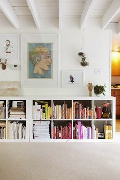 Image result for ikea kallax wall mount