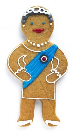 In Honor of The Diamond Jubilee of Queen Elizabeth II, you can get a Gingerbread biscuit to mark the occasion.