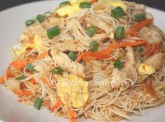 fried vermicelli with XO sauce