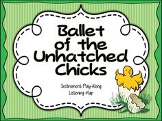 Ballet of the Unhatched Chicks Listening Map