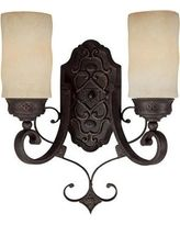 Capital Lighting 1907 River Crest 13 Inch Wall Sconce 1907RI-125 Mediterranean Wall Sconce Rustic Iron
