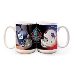 Shop for team apparel and Hall of Fame exclusives in the Pro Football Hall of Fame store. Hall Of Fame Game, Football Hall Of Fame, Team Apparel, Nfl, Mugs, Sports, Hs Sports, Tumblers, Mug