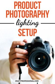 Product photography lighting setup tutorial for beginners. 3 simple ways to set up lighting for product photography. #productphotography #handmadebusiness #craftprofessional Photography Lighting Techniques, Photography Set Up, Photography Lighting Setup, Lighting Setups, Photo Lighting, Creative Photography, Selling Crafts Online, Craft Online, Craft Business
