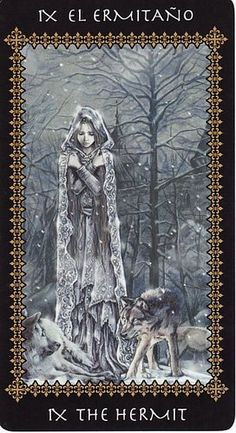 Favole #Tarot by Victoria Frances, #Hermit