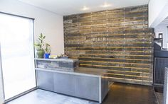 Porter Barn Wood - BRR Architecture Speckled Black Wood Wall