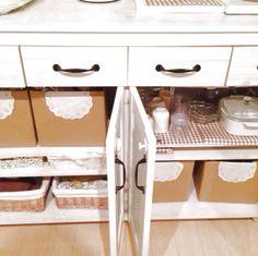 ダンボール/食器棚の中…などのインテリア実例 - 2014-01-24 18:35:09 | RoomClip(ルームクリップ)