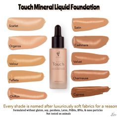 Younique's brand NEW liquid foundations!!!  Great coverage!!!  Excellent for combination skin!!!  Feels like silk!!!!   https://www.youniqueproducts.com/Lashlovershannondeskins/party/2502636/view?success=1