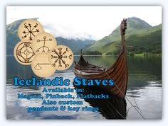 Icelandic Stave Magnets Icelandic. Stave by TheSteamPunkCatSlave