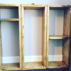 Free standing or wall mounted modular shelving units. Modular Shelving, Bathroom Medicine Cabinet