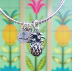 Pineapple ALEX AND ANI bangle! #bracelet