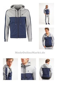 3606802701151 | #le #coq #sportif #TECH #Sweatjacke #light #heather #grey/dress #blues #für #Herren