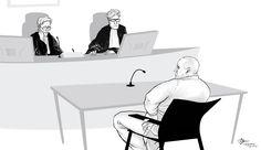 Courtroom illustration 's-Hertogenbosch [15-09-2016]