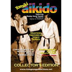 Japanese Master Kenji Tomiki Aikido DVD collector's edition