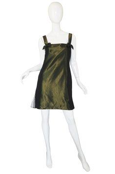 1990s Valentino Silk Lingerie Inspired Dress
