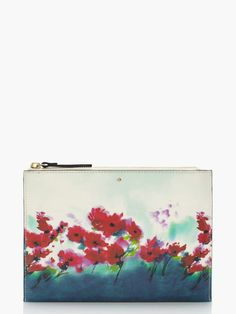MONROE PLACE FLORAL medium bella pouch