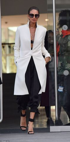 215f8f44d5b84 Amanda Holden dons plunging white suit for BGT auditions