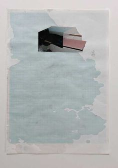 Martin Erik Andersen  Paper work. 2005 Pencil, wax, photo.