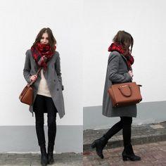 Cos Pants, Michael Kors Bag, H&M Boots