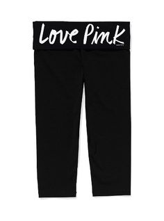 Victoria's Secret PINK Crop Leggings