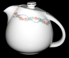 Hall China Wildfire RARE Sani-Grid Teapot