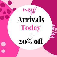 New Arrivals extra off with code 👏😇 . Extra off offer ends at PM EST it's time to go shopping Now! 20 Off, Go Shopping, Cyber, Shop Now, Calm, Coding, Instagram, Programming